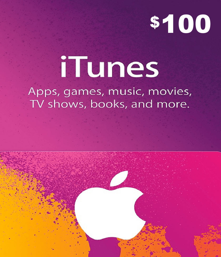 Apple iTunes Gift Card 100 USD – ExoPlayZone